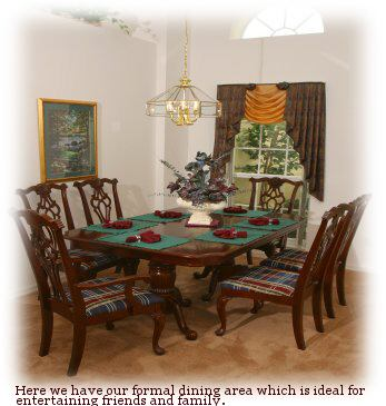 image formal dining area